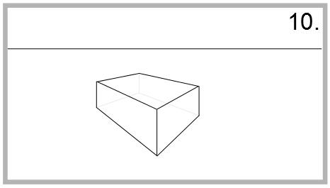 zeichnen mit der bereckperspektive bung. Black Bedroom Furniture Sets. Home Design Ideas