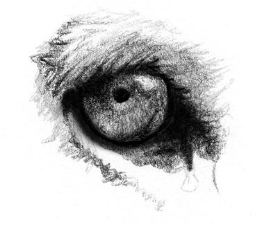 weinendes auge zeichnen anleitung
